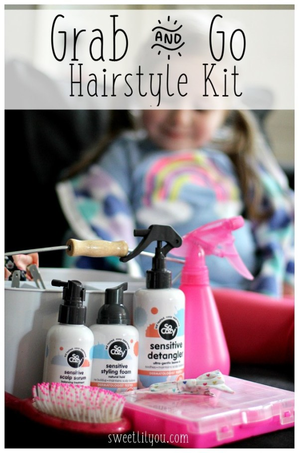 Grab and Go Hairstyle Kit