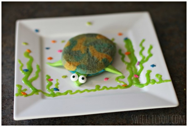 sea turtle sandwich cookies