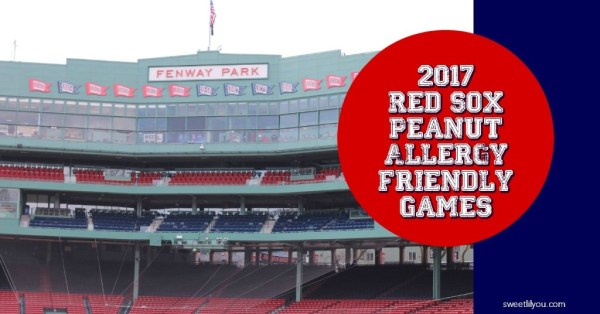 Red Sox Peanut Allergy Friendly Games