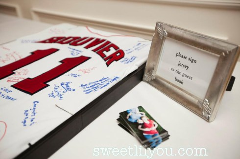 baseball jersey wedding guestbook guests book signatures unique different fun