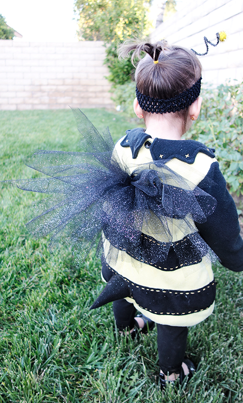 DIY Bumble Bee Costume Sweet Little Amelie