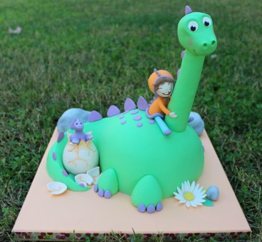 Tarta Dinosaurio