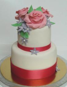 Minicake con flores