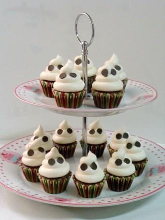 Mini cupcakes fantasma