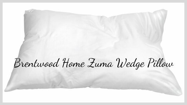 brentwood home zuma wedge pillow review