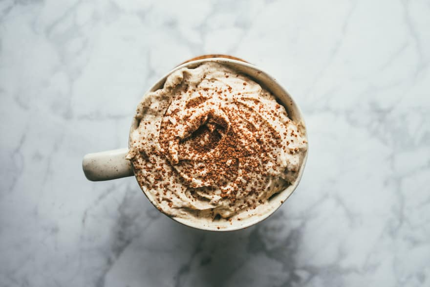 CBD oil Hazelnut Hot Chocolate