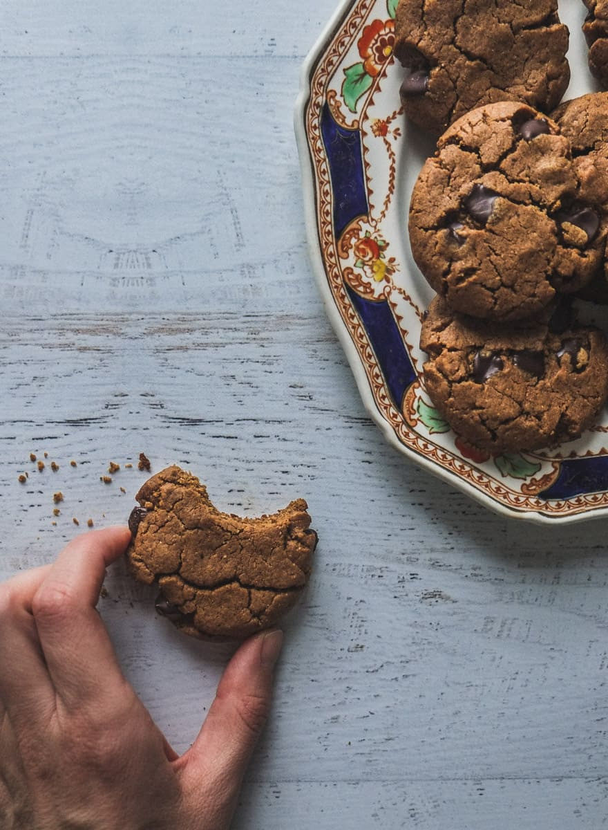 Chai spiced Chocolate chip cookies #paleo #glutenfree #grainfree