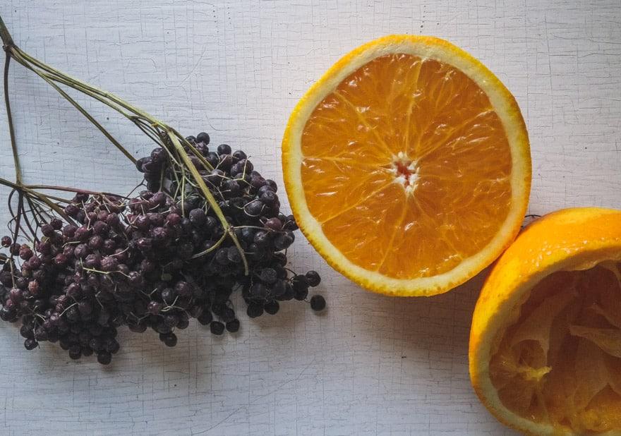 Elderberry-Cranberry-sauce #healingfoods