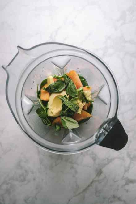 Green Smoothie (Bananaless) #vegan #smoothie #healthy