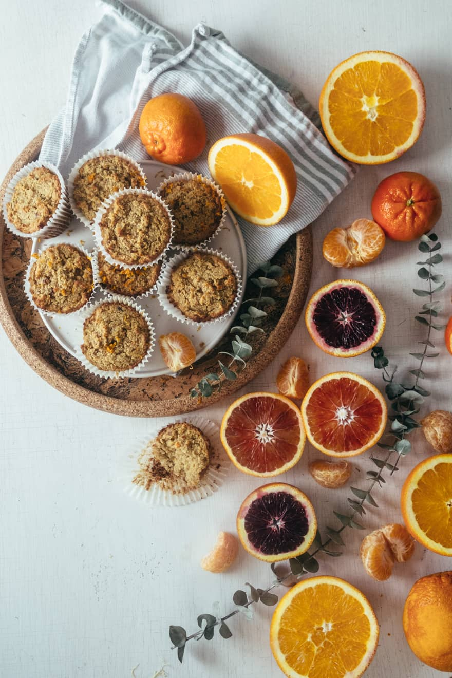 Paleo Orange Date Muffins