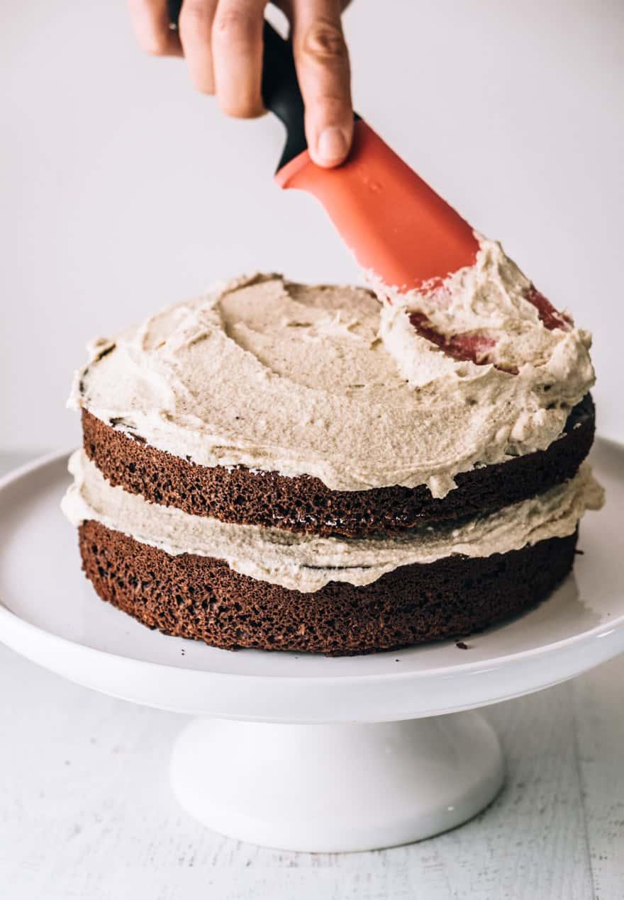 Paleo Chocolate Hazelnut Cake #paleo #cake