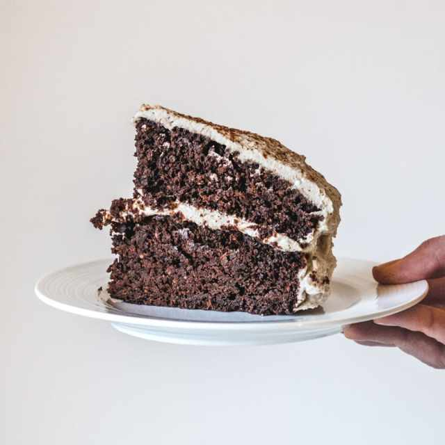 Paleo Chocolate Hazelnut Cake with Salted Almond Butter Whip