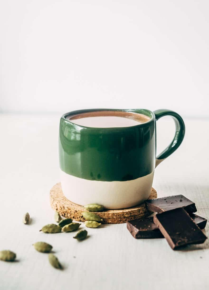 cardamom collagen drinking chocolate #refinedsugarfree #paleo