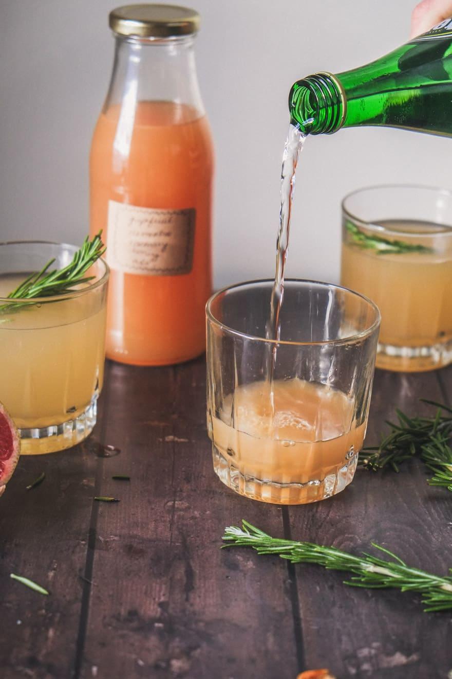 Grapefruit Clementine Shrub #Shrub #cocktails