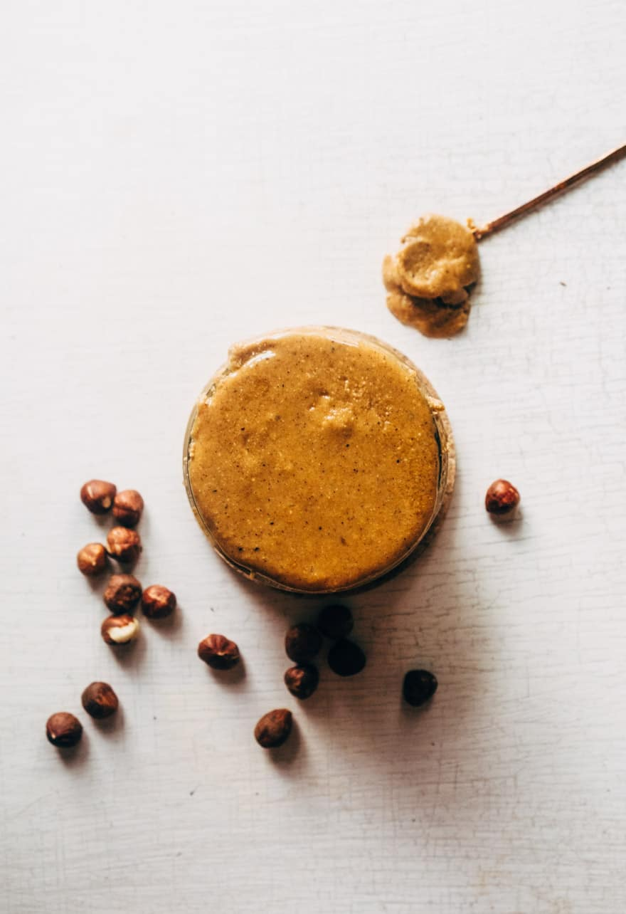 maple cardamom hazelnut butter