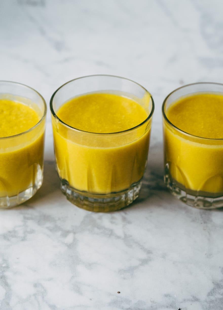 pumpkin ginger smoothie