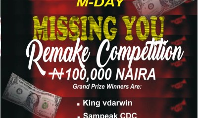 Sweetloaded MDay-Missing-you-remake-competition-winners-artwork-1 Winners Of MDay Missing You Remake Competition Free Beat  Snowz