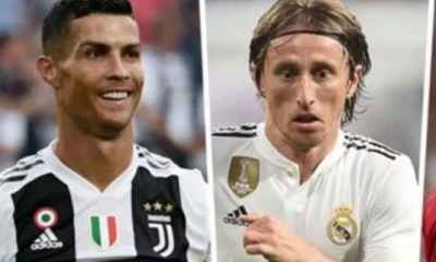 Sweetloaded modric-1 Modric Reveals What Ronaldo Told Him After Winning UEFA Award gist  Snowz