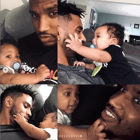 Sweetloaded 5dad6bd98d9ba Trey Songz shares adorable new photos with his son as he turns 6 months old gist  Treyz share adorable photos