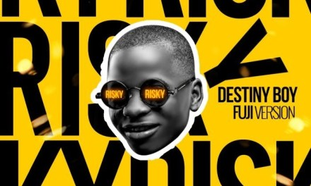 [Music] Destiny Boy – Risky Cover (Fuji Version)