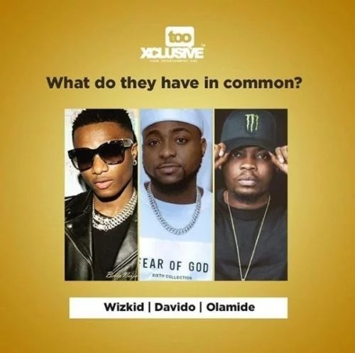 Sweetloaded dawola Davido, Wizkid & Olamide – What Do They Have In Common? gist trending  Wizkid Olamide Davido