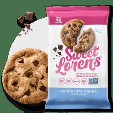 Chocolate Chunk, Gluten Free Cookie Dough   Sweet Lorens