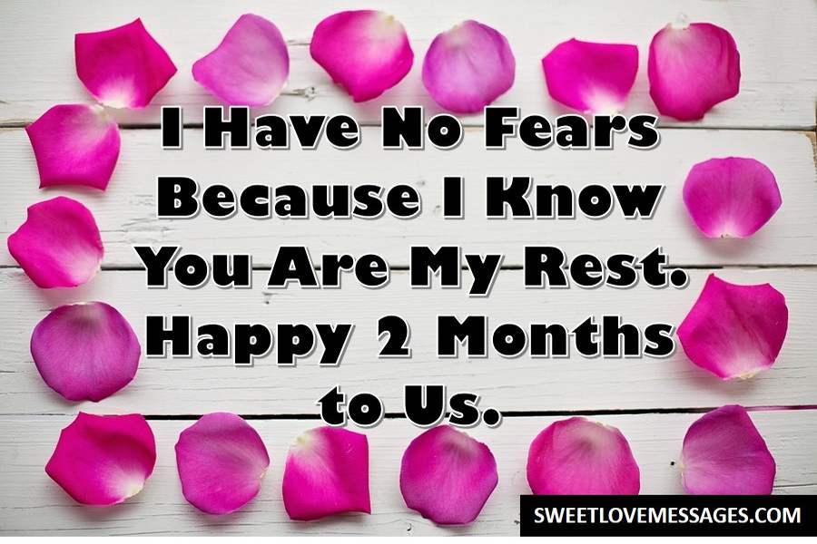 Happy 2 Month Anniversary Messages For Him Or Her In 2020 Sweet Love Messages