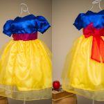 Vestidos infantis inspirados nas Princesas Disney