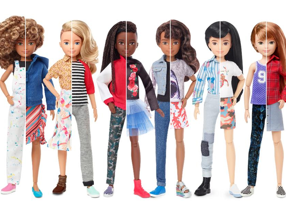 Creatable World: as bonecas de gênero neutro da Mattel