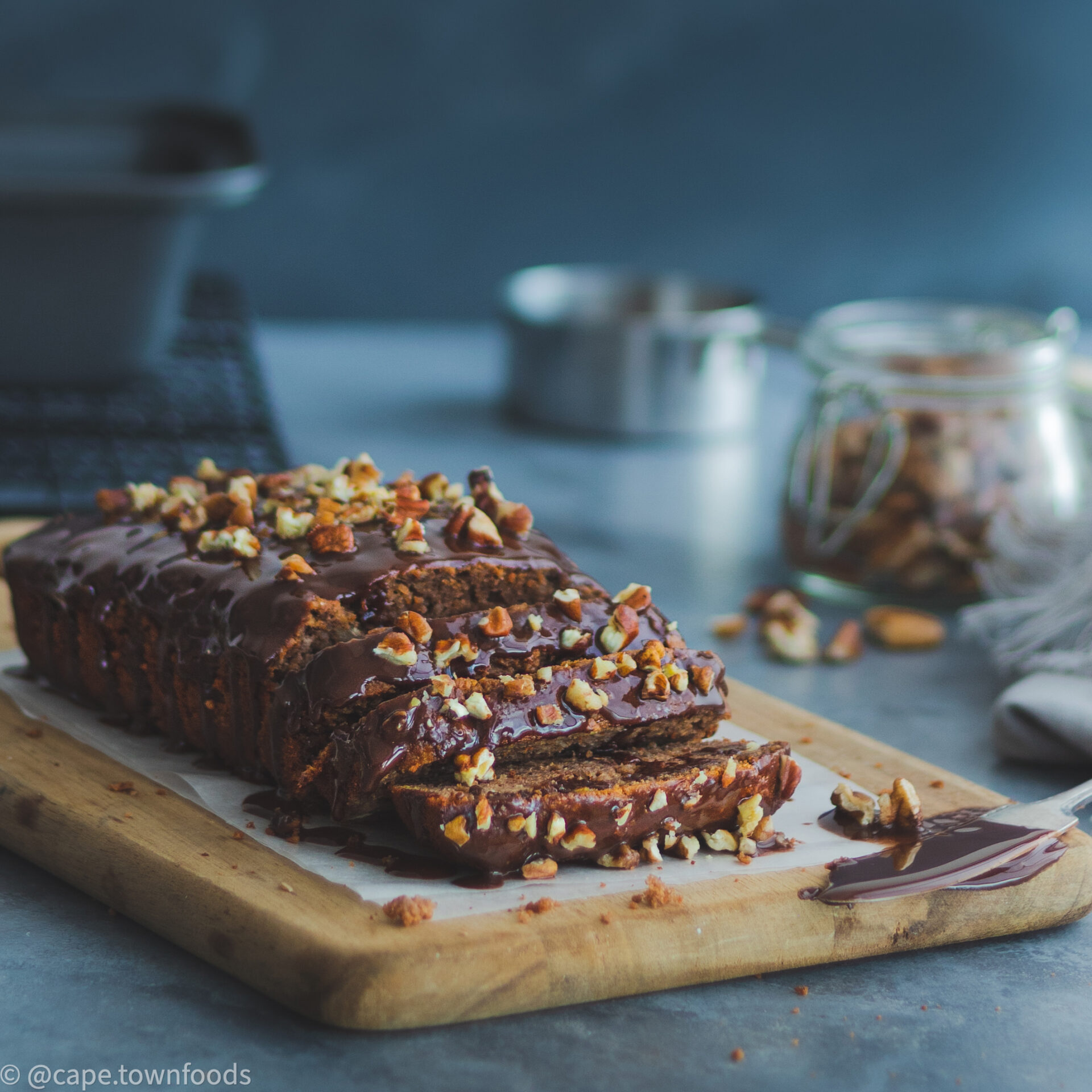 SWEETLY Chocolate Protein Banana Bread