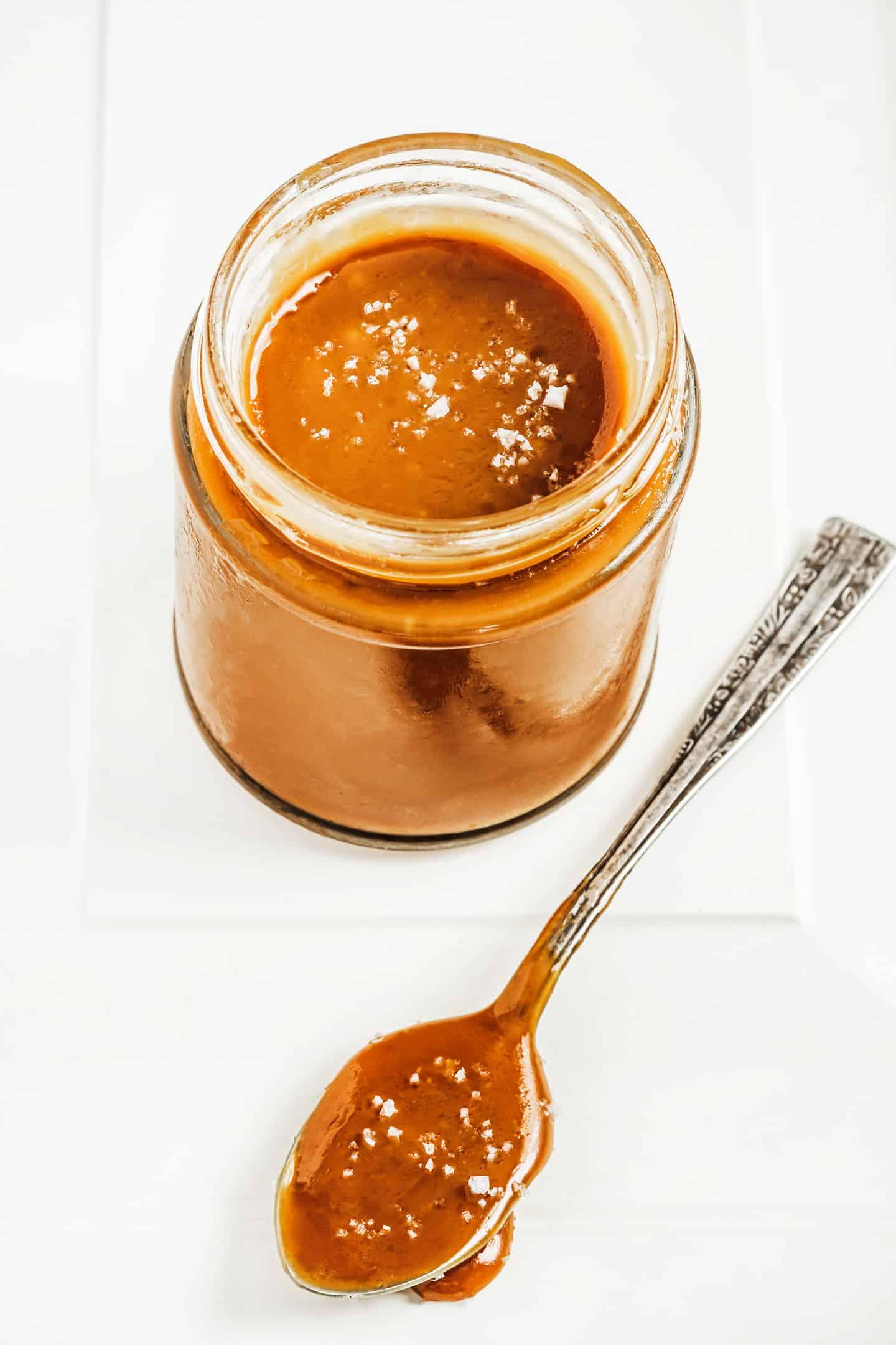 Recette facile du caramel au beurre salé maison