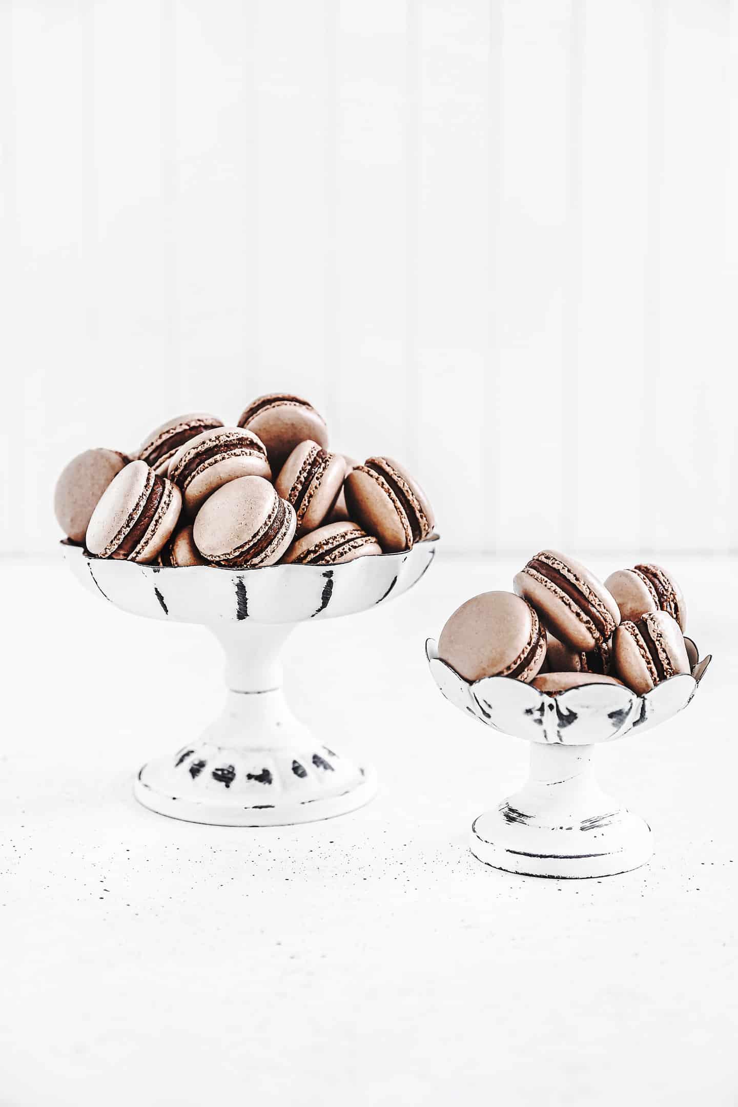Macarons facile au chocolat