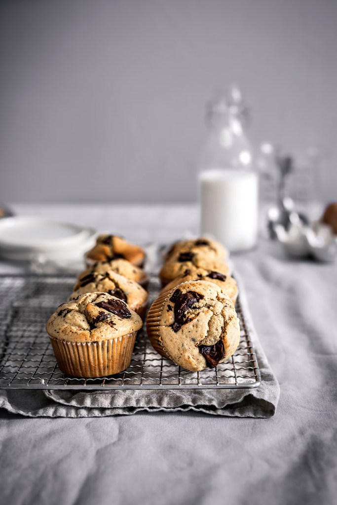 muffins chocolate chunks