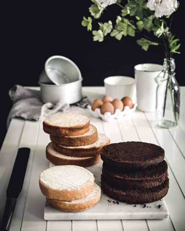 Recettes de génoises pour layer cakes