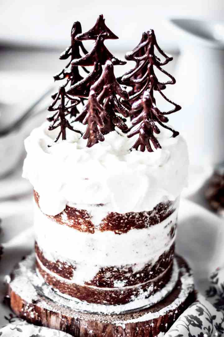 Gingerbread spice layer cake