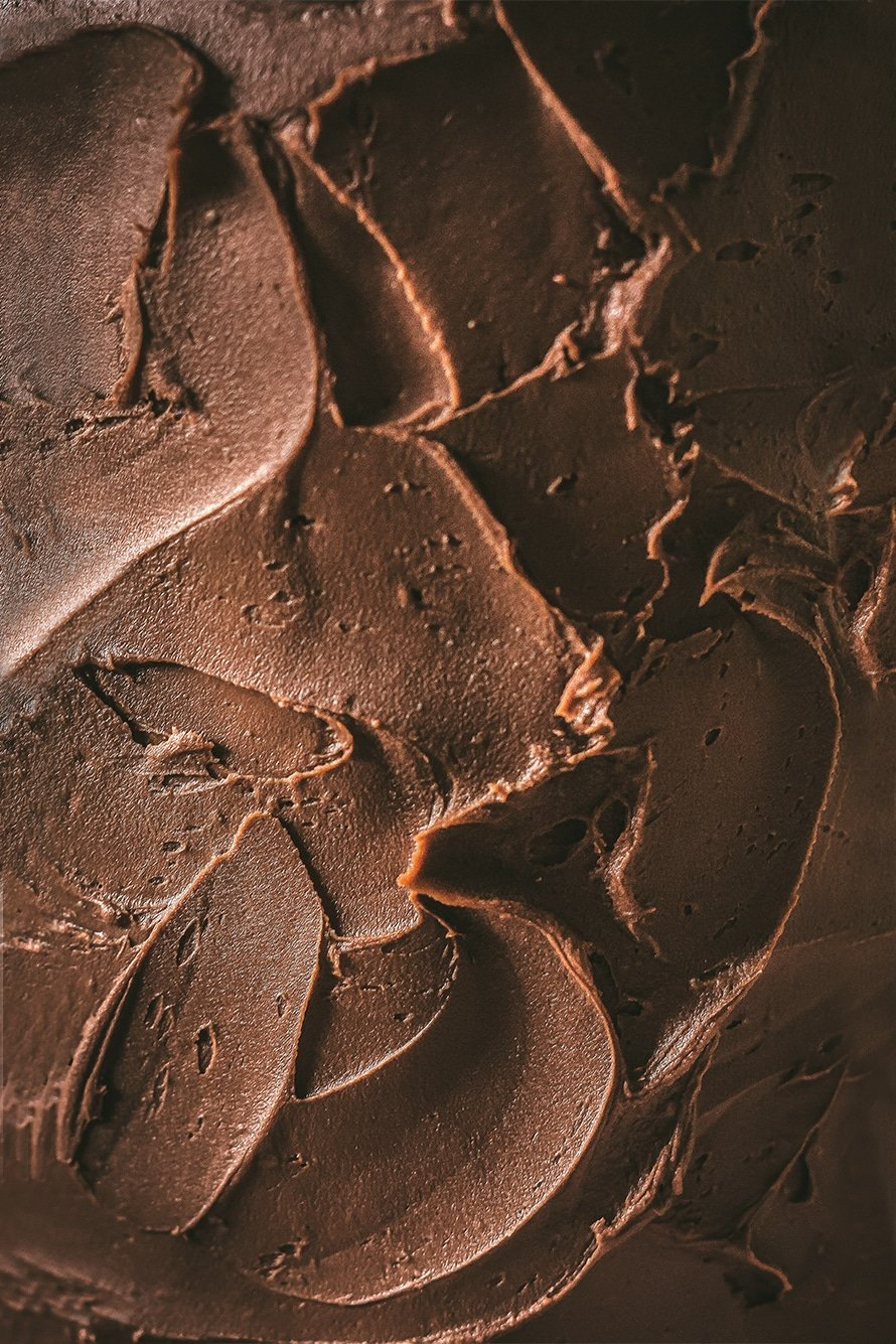 texture of the chocolate ganache