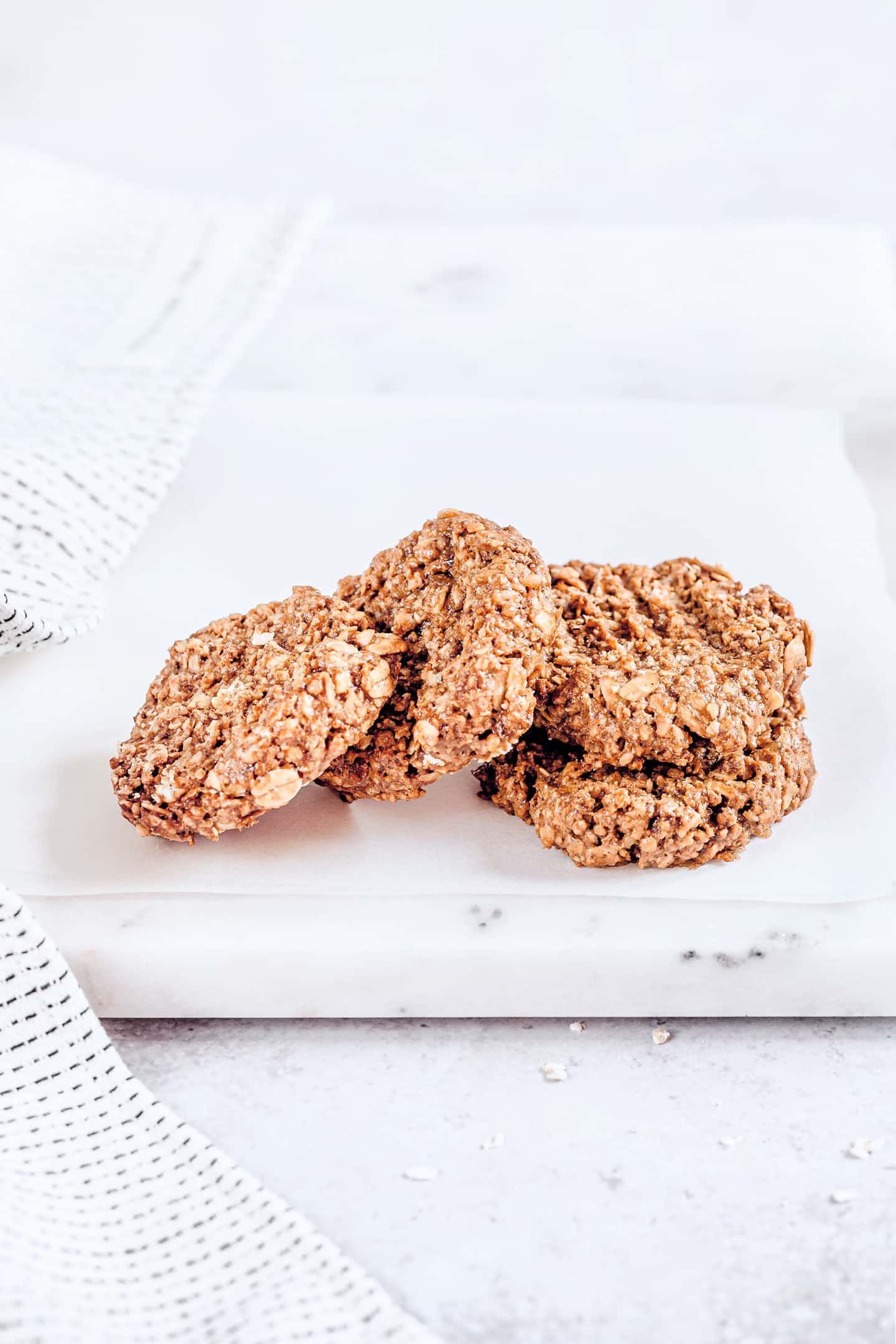 Recette des biscuits healthy flocons d'avoine