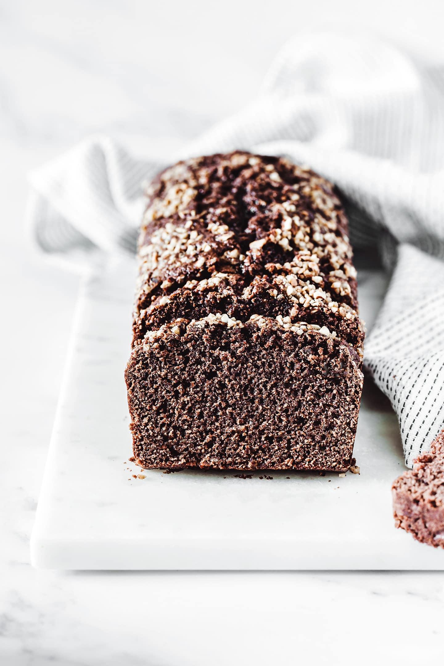 Soft chocolate loaf cake recipe