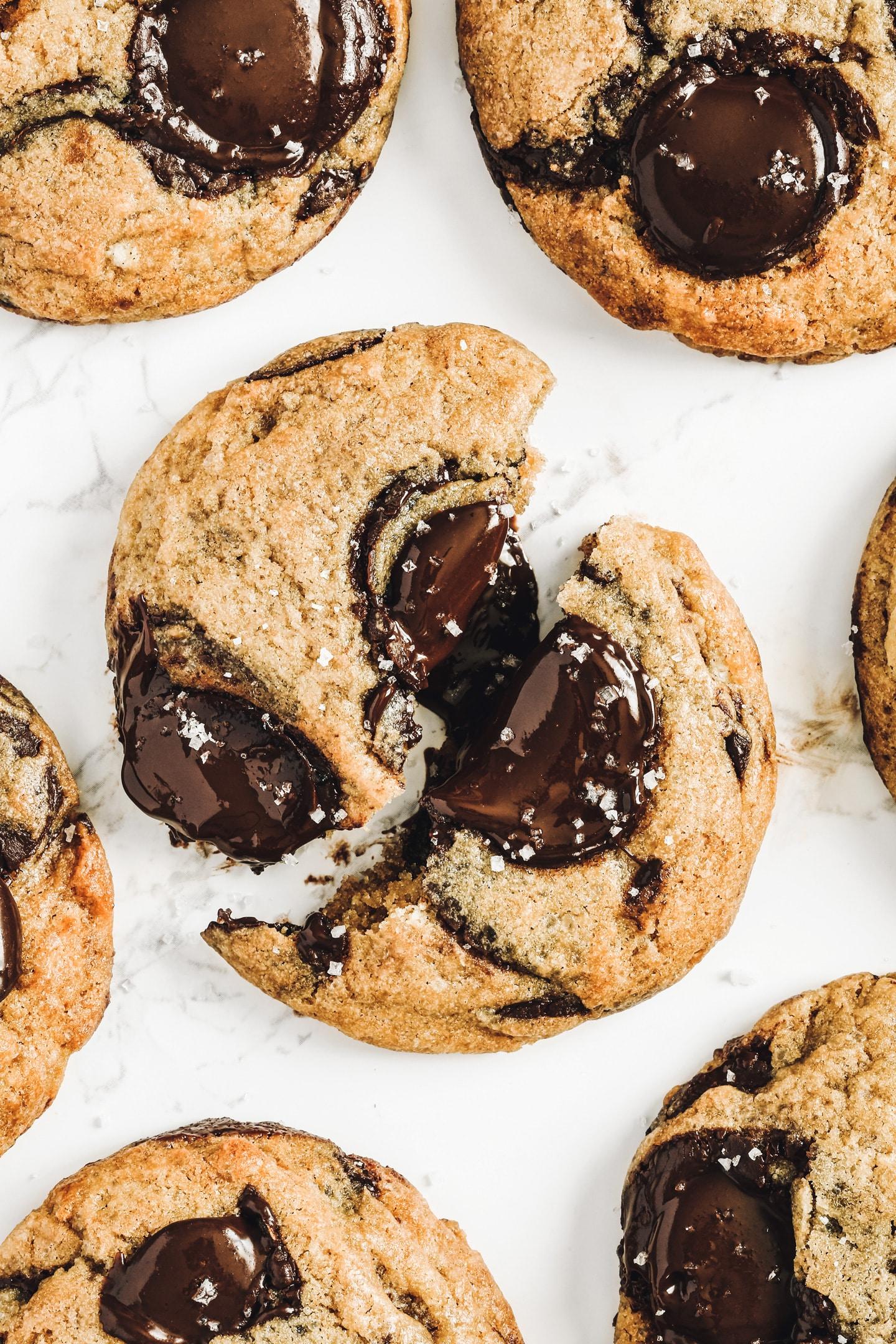 Cookies maison pépites de chocolat