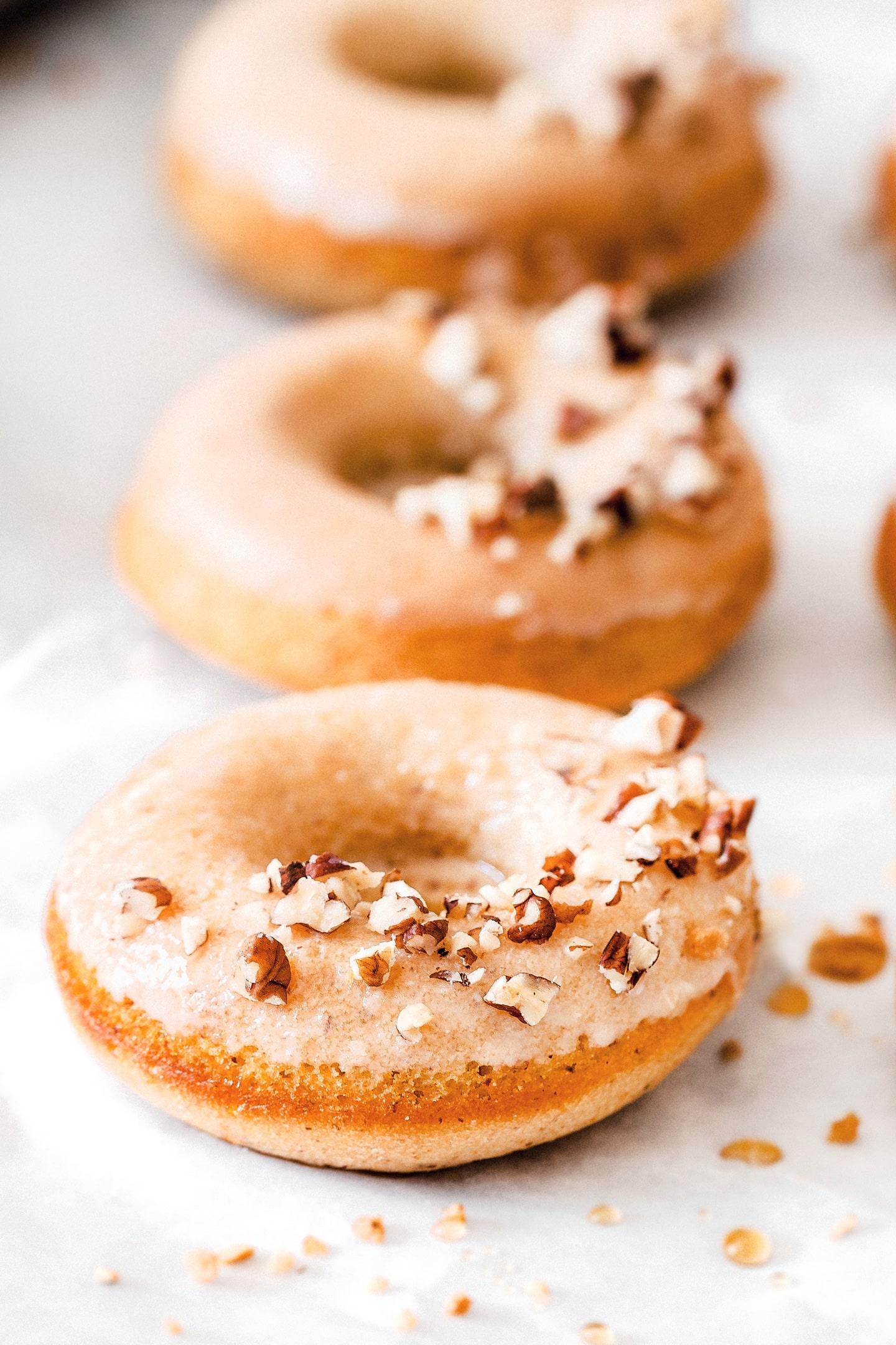 Recette facile des donuts au four