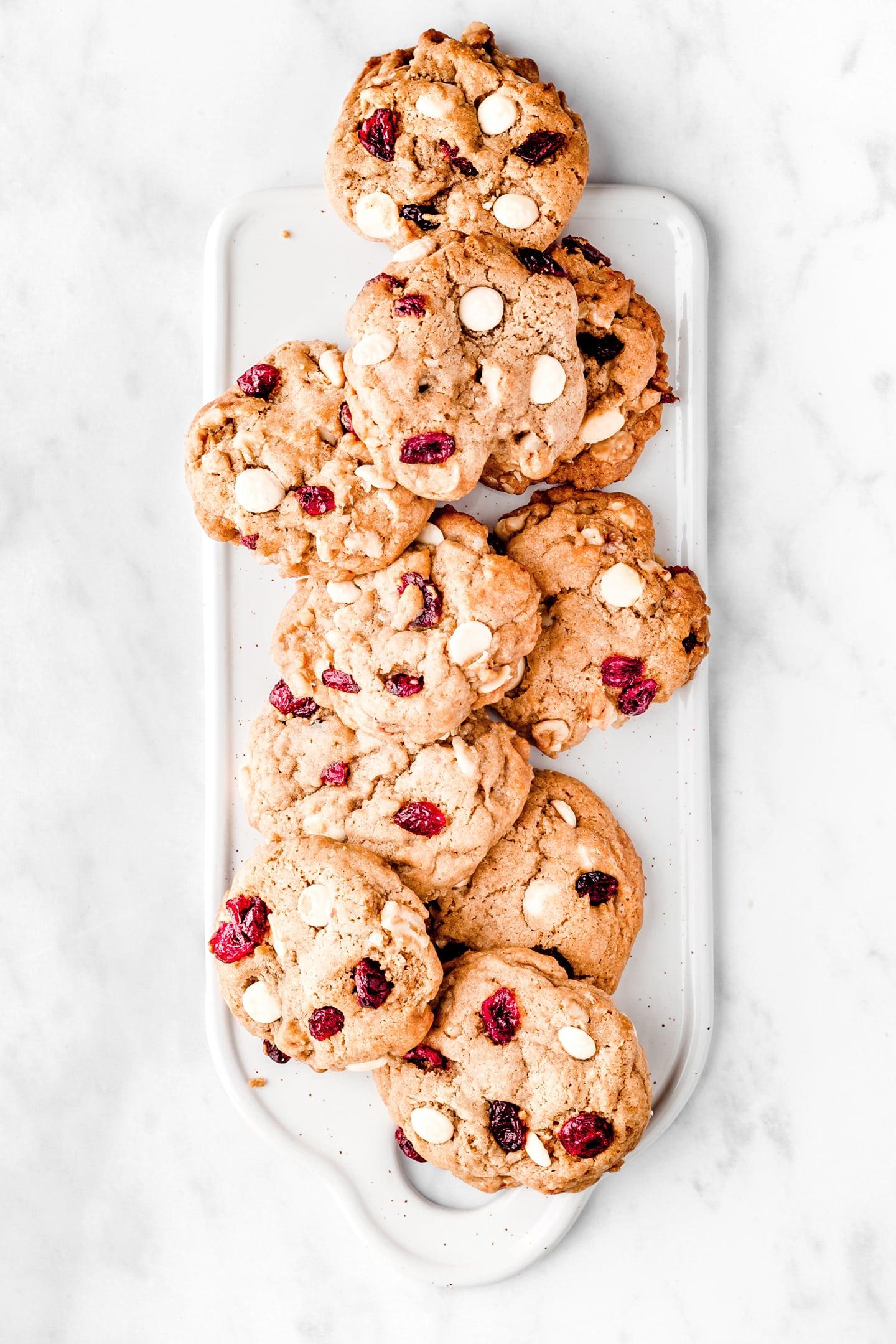 Recette des cookies au chocolat blanc