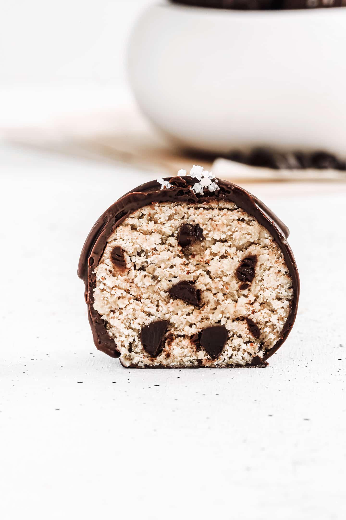 Comment faires des truffes healthy aux pépites de chocolat