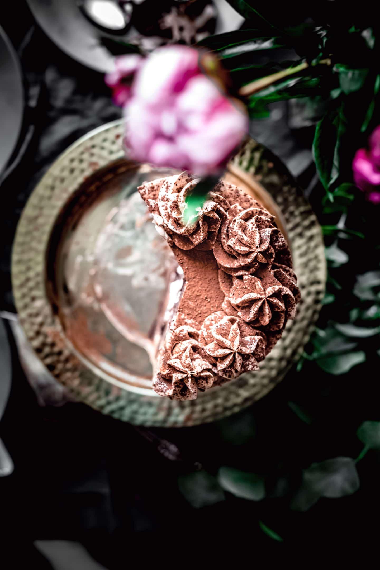 Layer cake chocolat