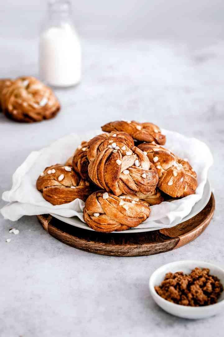 Recette des kanelbullar petits pains suédois