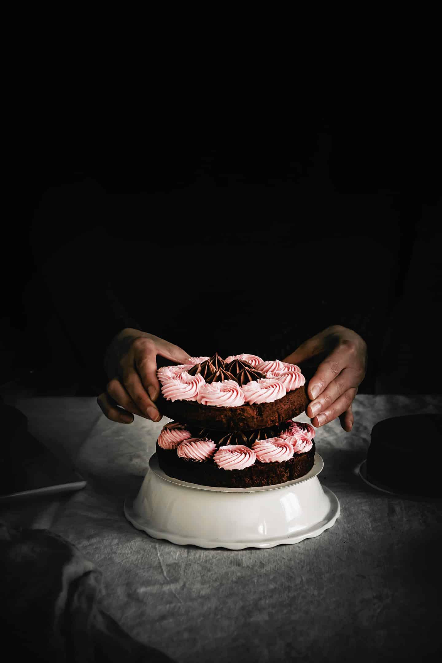 Naked Cake aux Fruits des Bois pour Anniversaire