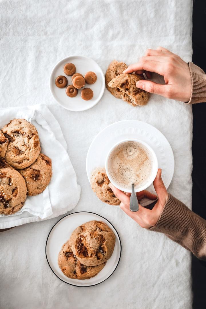 Les cookies au caramel