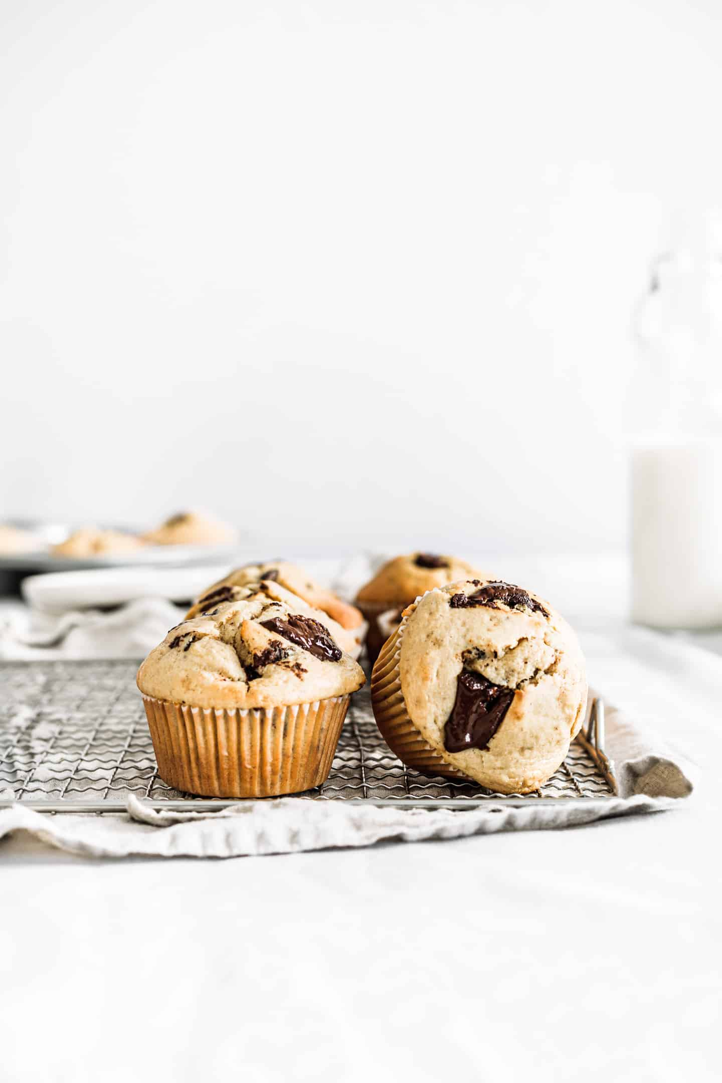 Easy chocolate chip muffins recipe