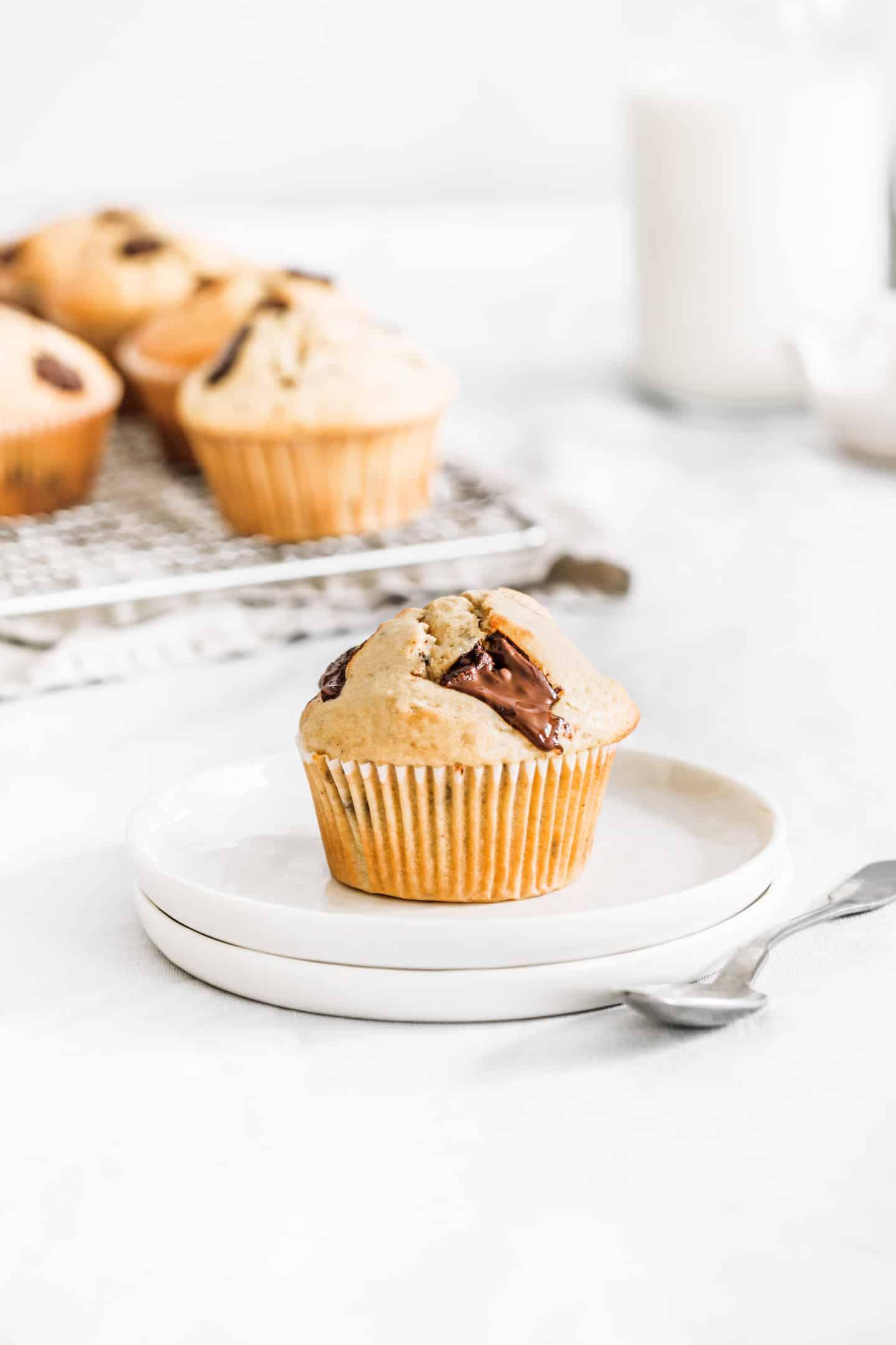 Recette facile de muffin pépites de chocolat