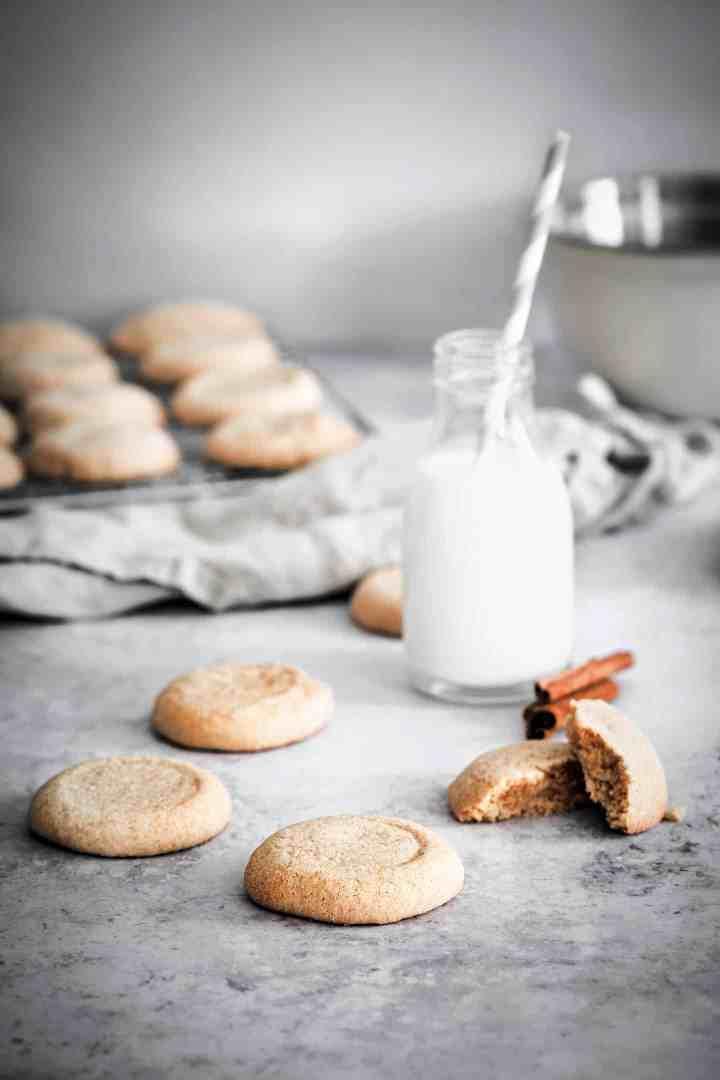 shortbread cinnamon cookies