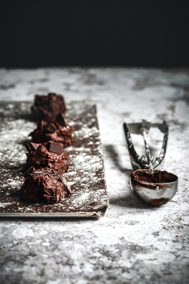 Cookies chocolat et marshmallow